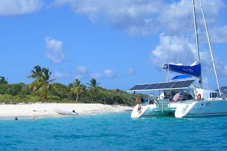 Catamaran Charter All Incl BVI up to 8 ppl