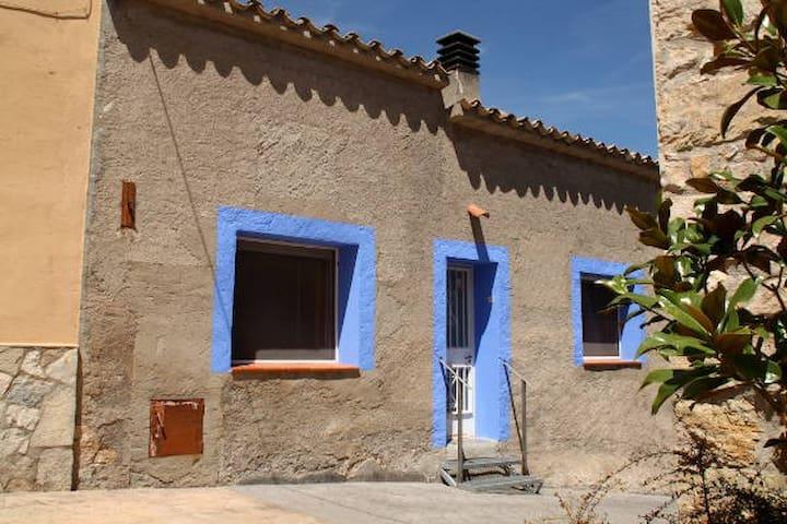 Ancosa cottage 7pax la Llacuna Barcelona - Torrebusqueta - Rumah