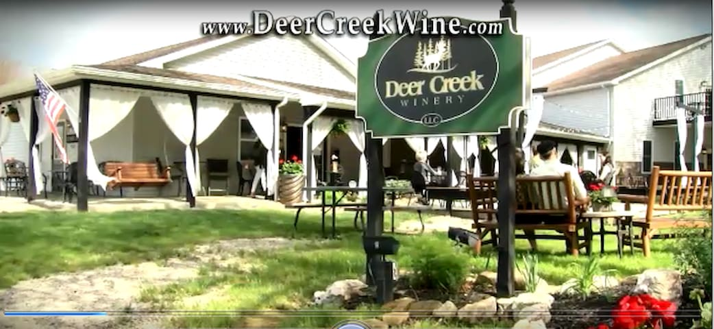 Deer Creek Winery Inn B&B.  Come, Relax, Stay