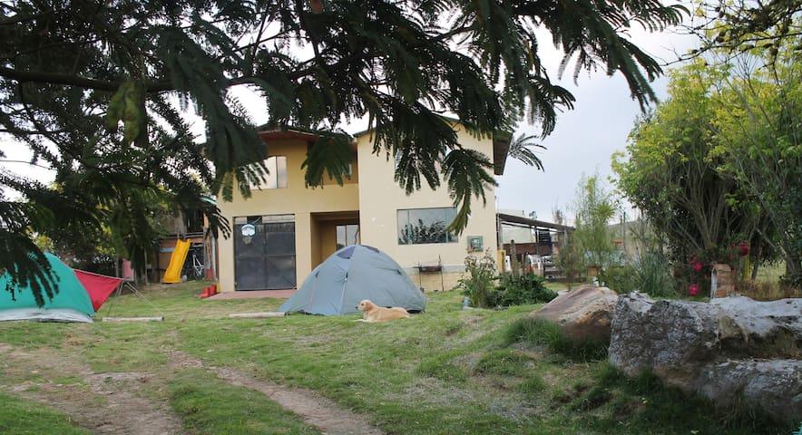 Ecoturismo, Camping, Comida Colombiana - Bogotá - La Calera - Çadır