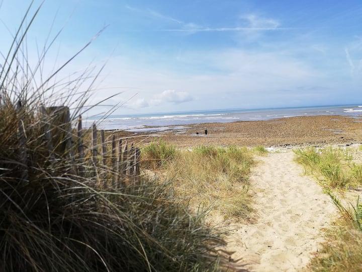 Maisonnette rétaise à 300m de la plage