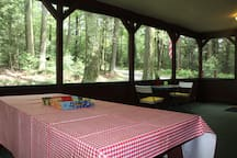 Great spot for meals or games