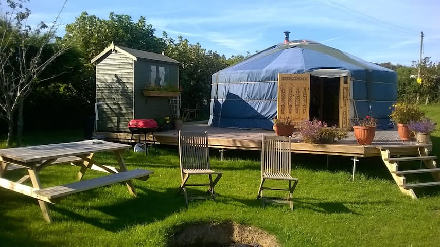 Plumstone Mountain Yurt - Camrose - Yurt