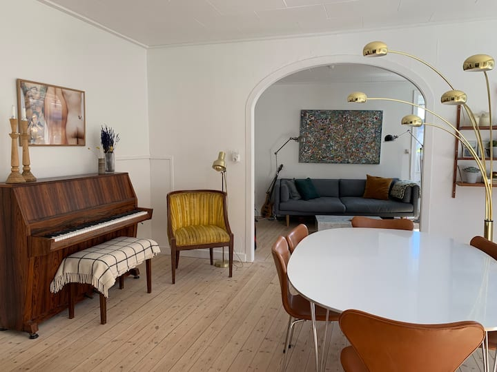 Charming 3 room apartment in hip Nørrebro