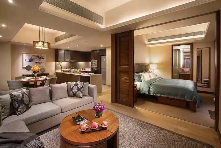 7号线花木路100米高端精品酒店,可VR看房(一个月起租)
