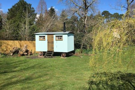 Rustic Shepherd's Hut Rural Setting - Ringwood