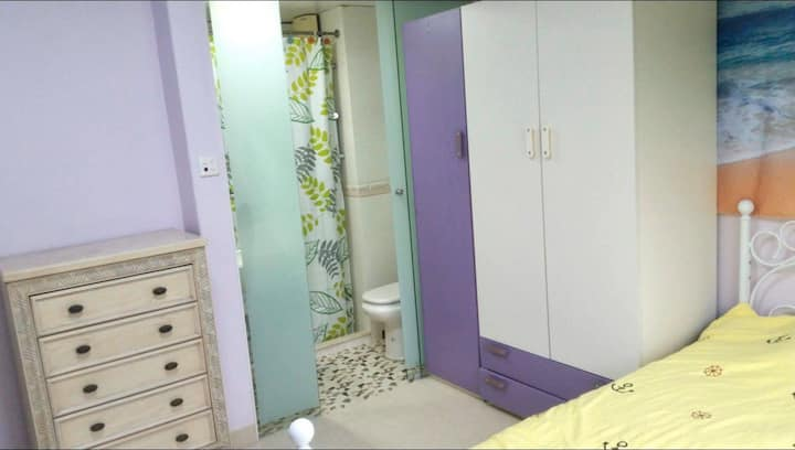 Private room with own bathroom near HKUST