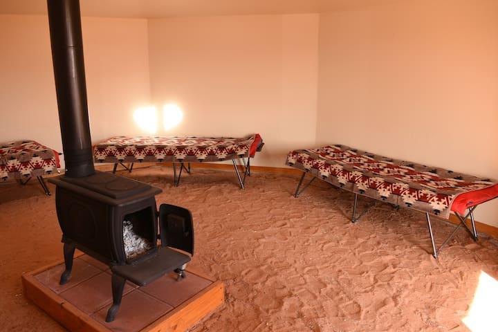 Antelope Canyon Navajo HOGAN #1 (Exclusive)