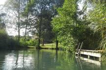 Badeplatz Fluss