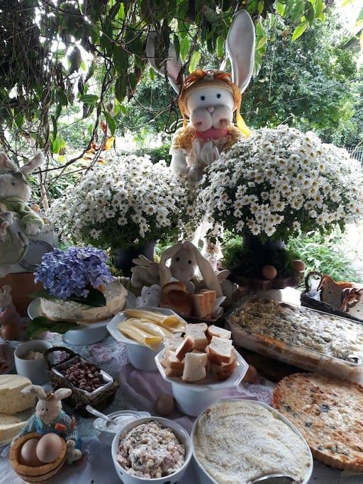 Su te com caf da manh alecrim bungalow in affitto a - Camera cafe santa maria al bagno ...