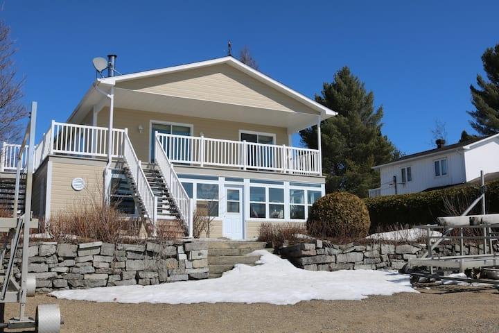 la villa sur la plage