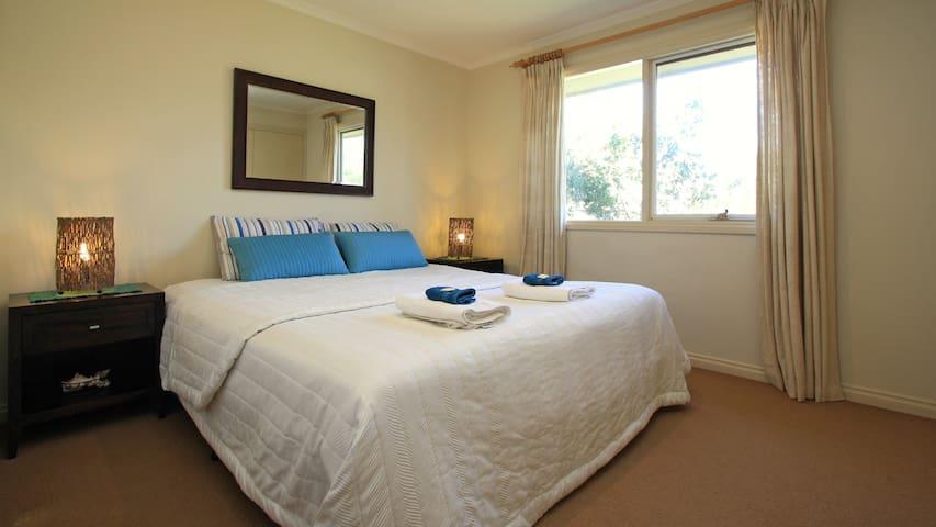Third bedroom- King or 2 singles