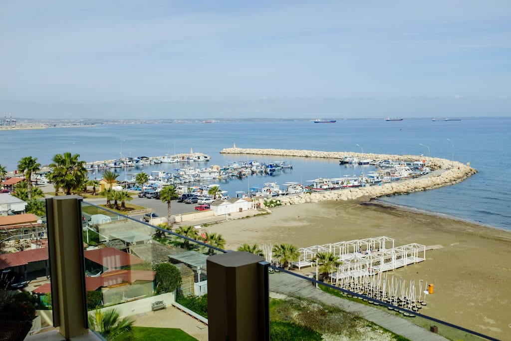 Larnaca's old fishing port - home to the best fish taverns in town!