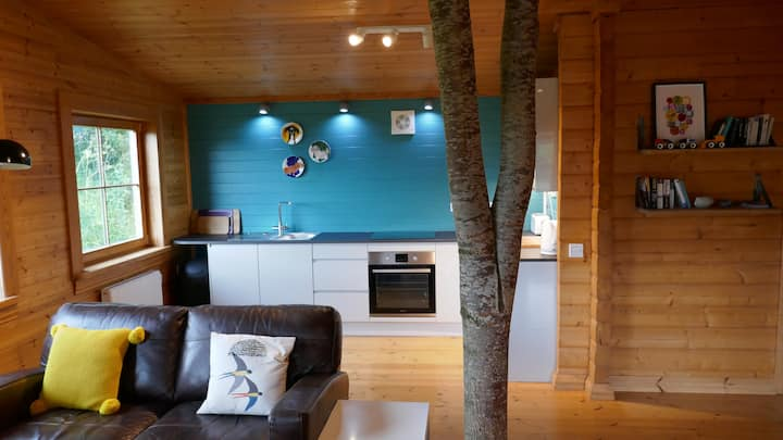 Retreat into Nature in the Welsh hills
