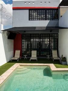 Casa de campo con alberca y arena - Tlajomulco de Zúñiga