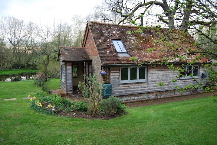 Stylishly converted detached barn