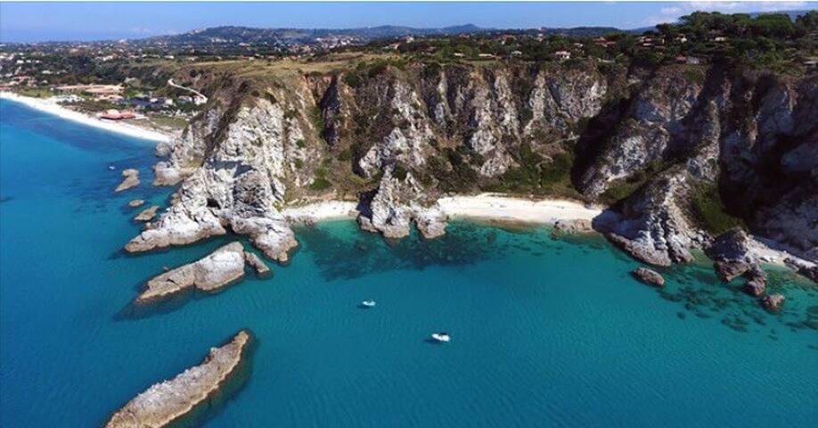 Tyrrhenian Calabria Sicily view