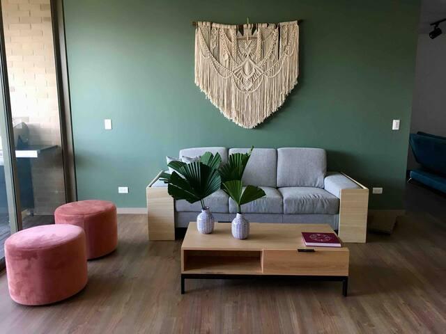 Habitación privada con la mejor vista en Medellín
