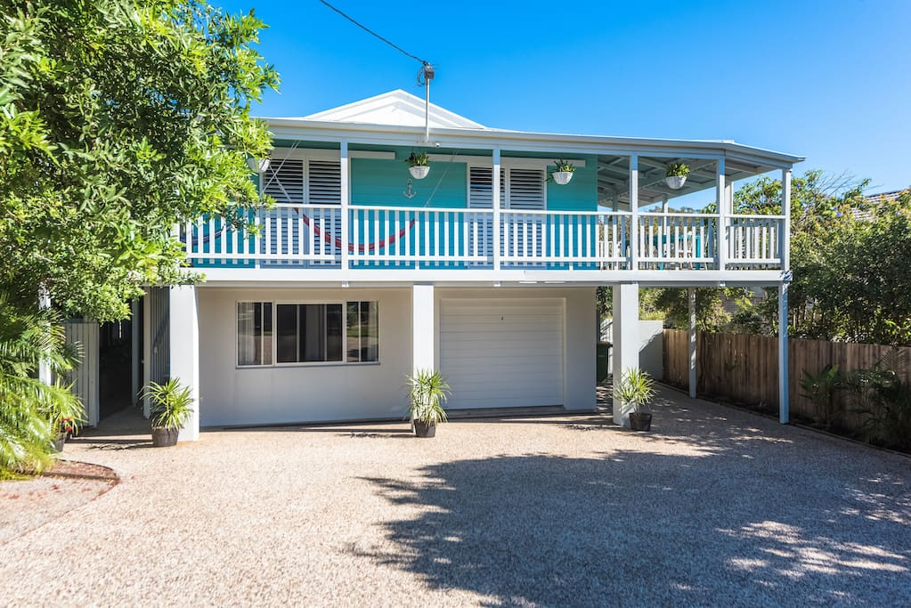 Tropical style beach house in the heart of Peregian Beach village