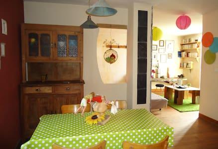 studio original, porte des Bauges - Saint-Jean-d'Arvey - Apartamento