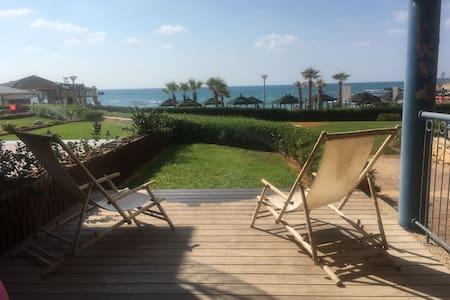 Hadera beachfront luxury sea resort cottage