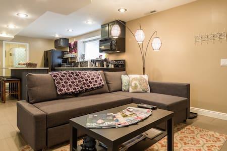 Modern, spacious, suburban hideway - Sandy - House