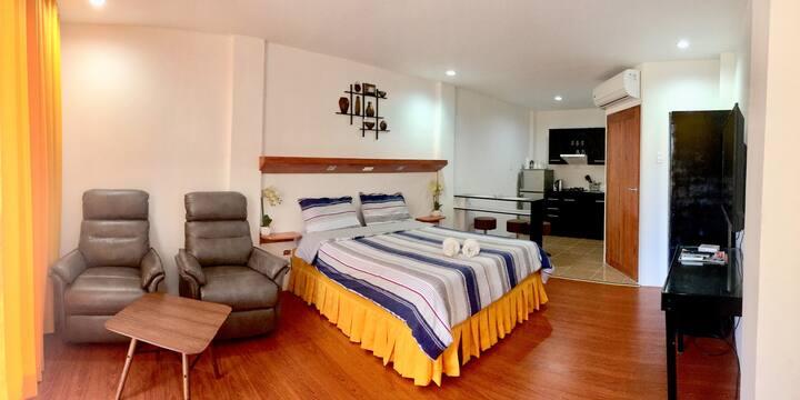 New Apartment near Alona Beach  (5-10mins. walk)