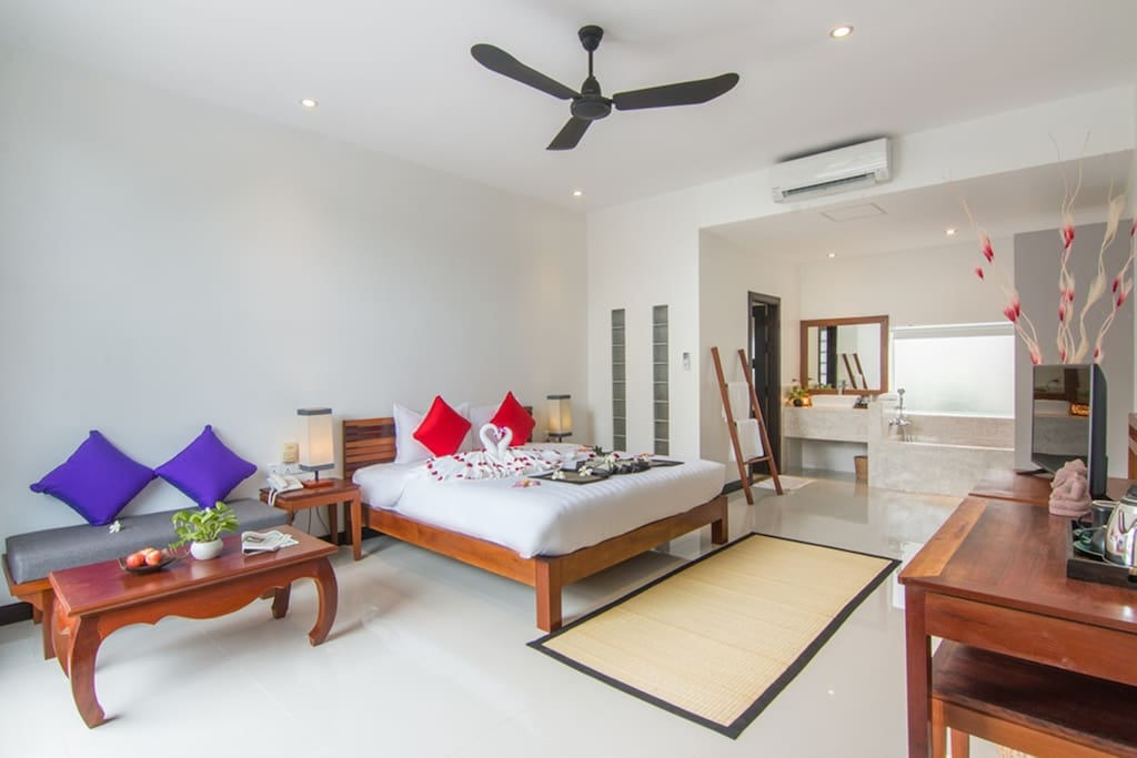 Deluxe Double Ground floor with Pool View