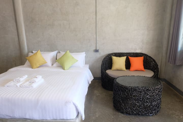 The Loft @Chiangrai: Double bed R.1