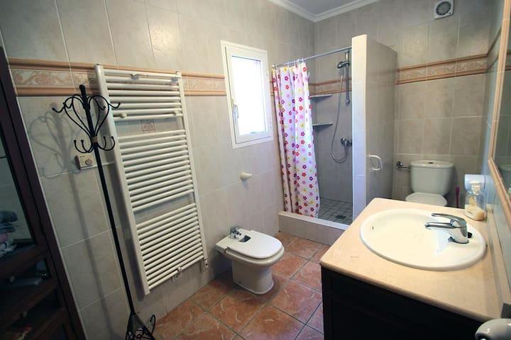 Duche,Bidet,Toilette,oben und unten