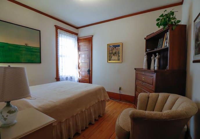 Charming full bedroom