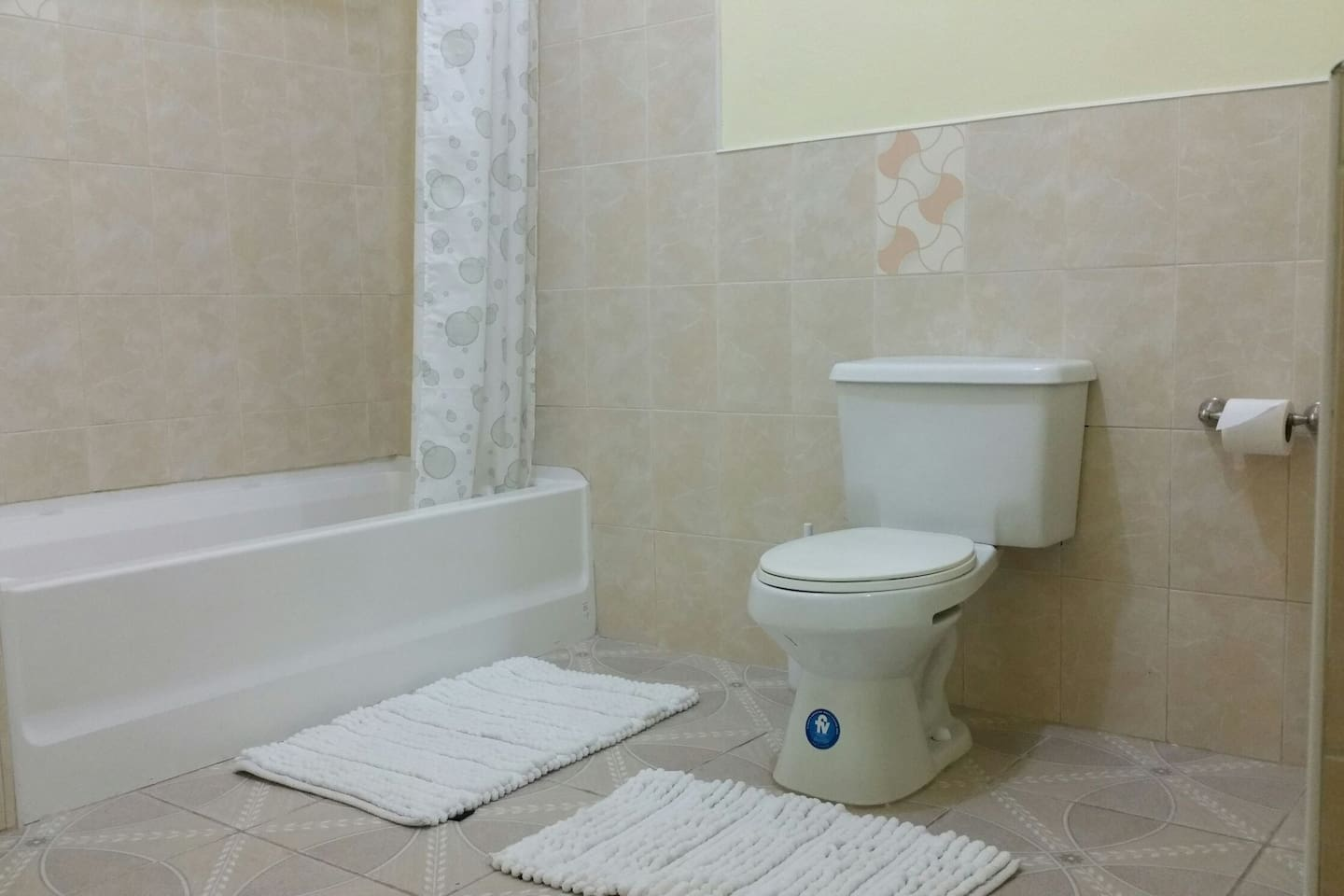 section of bathroom for bedroom 1