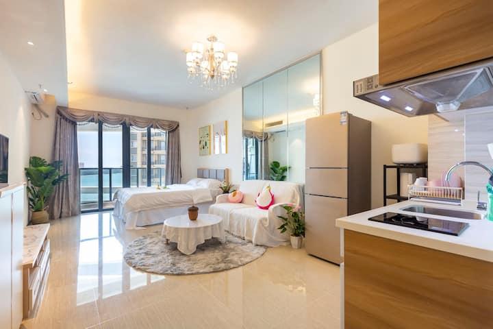 海花岛2号岛澜湾悦享舒适大开间度假公寓