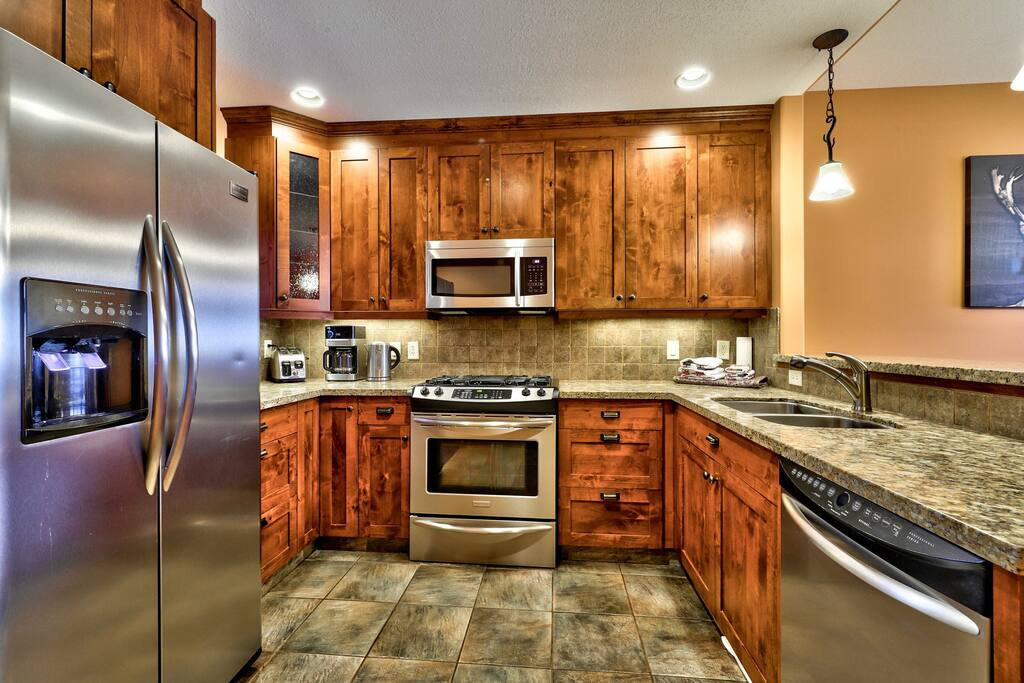 Gourmet kitchen with ALL the essentials and more..