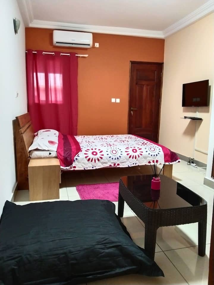 Studio meublé confortable pour séjour privé ✔️