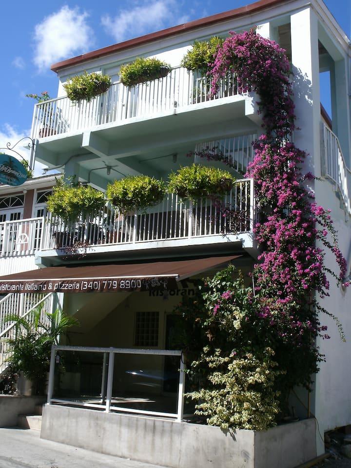 Lovely Cruz Bay Boutique Hotel!