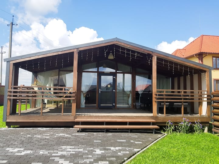 Scandidim - Дом с видом на город Луцк