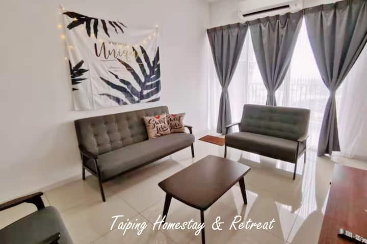 Taiping Lakegarden RetreatA@ 3Rooms CrystalCreek