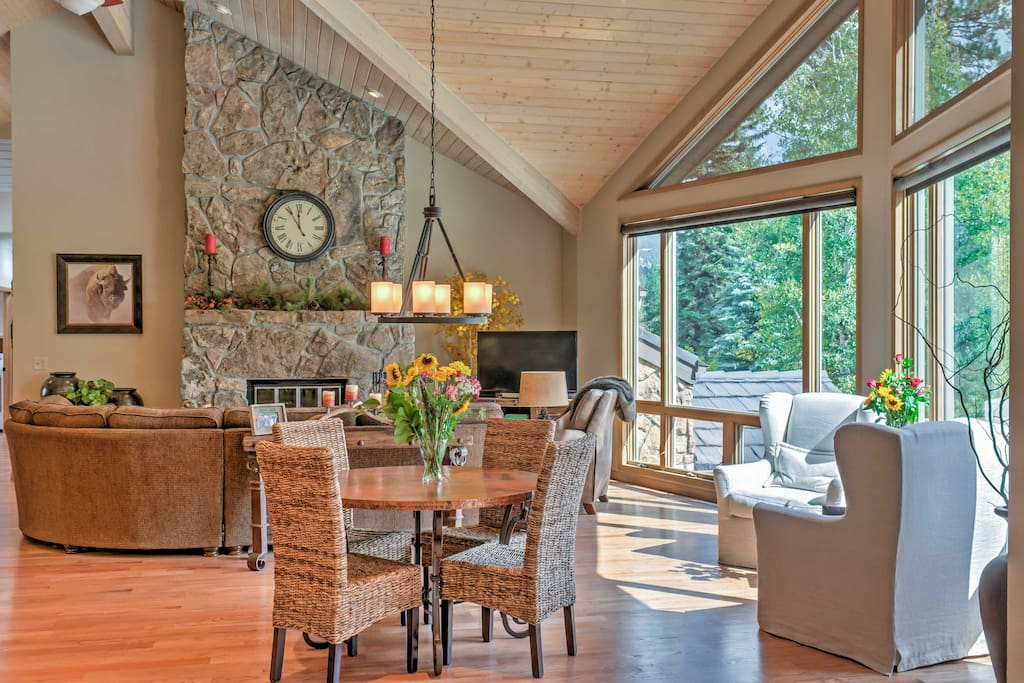 This home features an elegant, comfortable interior with several windows promising great views throughout the entire house.