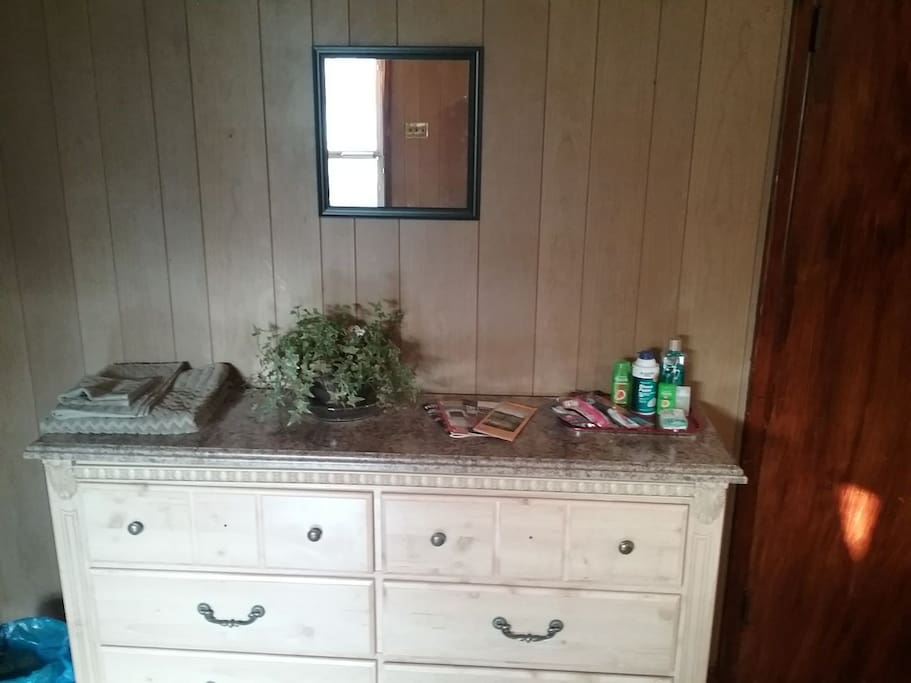 Dresser with extras