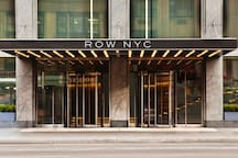 With a front row seat to Times Square and Broadway, ROW nyc harnesses the electric energy of the city to power a vibrant, contemporary New York experience.