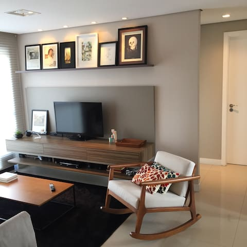 Central & Quiet / Private Suite - Curitiba - Lejlighed
