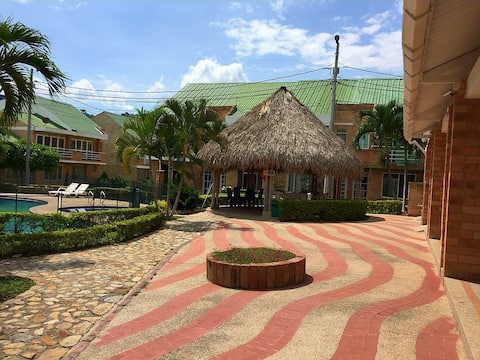 Hermosa casa de descanso en Villas de Anapoima