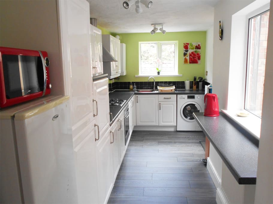 Recently decorated kitchen
