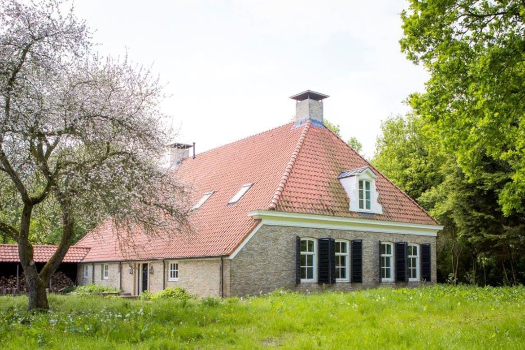Recently renovated farmhouse