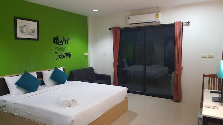 M HOSTEL LANTA  Private  room DBL 2
