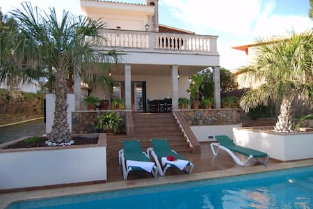 SOL VERI. Elegant Villa with private pool and BBQ. - El Arenal - Almhütte