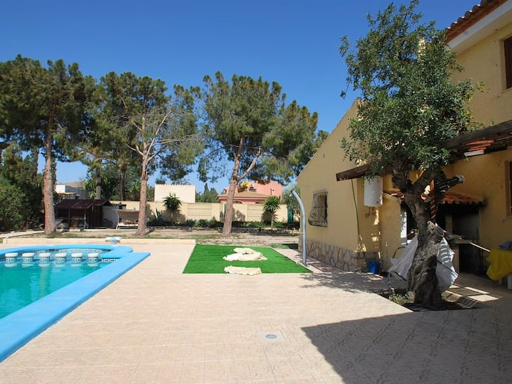 Apartment with 5 bedrooms in Sant Joan d'Alacant, with private pool, enclosed garden and WiFi - 850 m from the beach