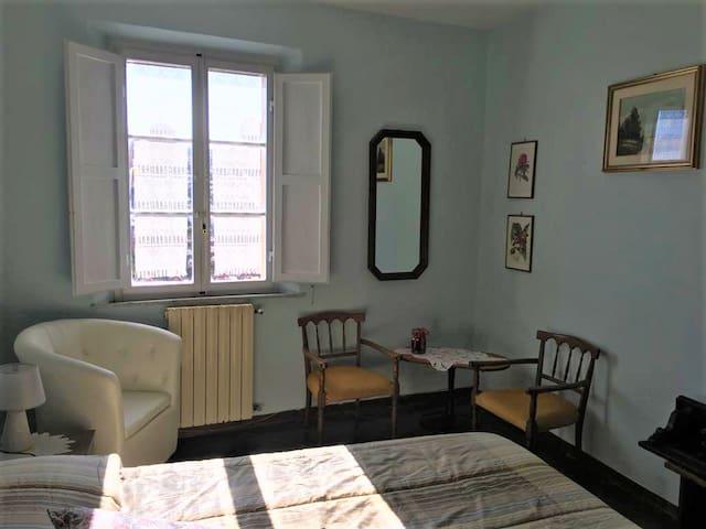 Blue-sky room