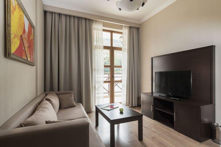 Апартаменты с двумя спальнями в Красной поляне. - Estosadok - Service appartement